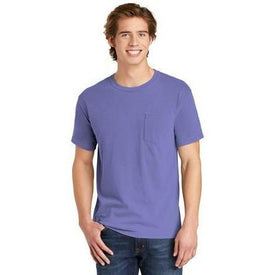 COMFORT COLORS Heavyweight Ring Spun Pocket Tee. 6030 (4928292978766)
