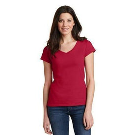 Gildan Softstyle Women's Fit V-Neck T-Shirt. 64V00L (4874901061710)