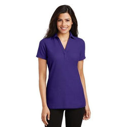 L5001 Port Authority® Ladies Silk Touch™ Y-Neck Polo (1173983133738)