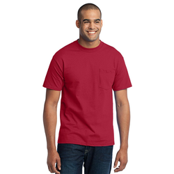 PC55PT Port & Company® Tall Core Blend Pocket Tee (1343717310506)