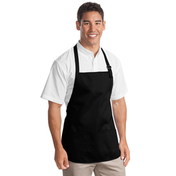 A510 Port Authority® Medium-Length Apron with Pouch Pockets (1593091522602)
