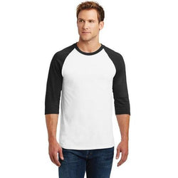 5700 Gildan® Heavy Cotton™ 3/4-Sleeve Raglan T-Shirt (590266630186)