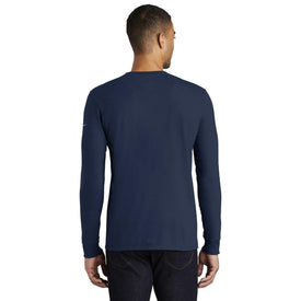 NKBQ5232 Nike Core Cotton Long Sleeve Tee (1843947634730)