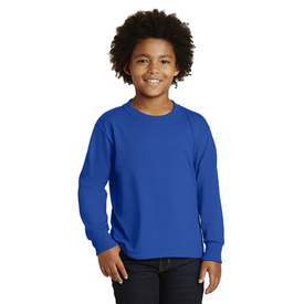 29BL JERZEES® Youth Dri-Power® Active 50/50 Cotton/Poly Long Sleeve T-Shirt (1351174619178)