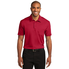 K540P Port Authority® Silk Touch™ Performance Pocket Polo (1227389698090)