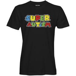 Autism Single Mario T-shirt