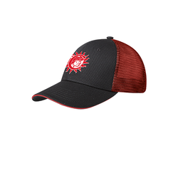 Cherokee Indian Princess Cap Black/Red