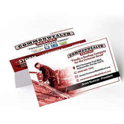 Commonwealth Roofing Business Cards (4575648710734)
