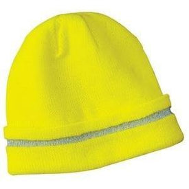 CornerStone - Enhanced Visibility Beanie with Reflective Stripe. CS800 (4892167897166)