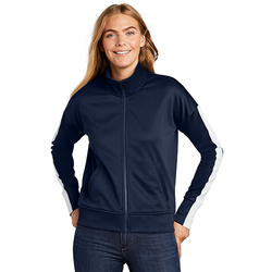 LNEA650 New Era ® Ladies Track Jacket