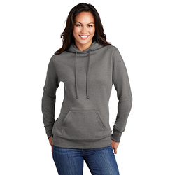 LPC78H Port & Company ® Ladies Core Fleece Pullover Hooded Sweatshirt (4511951257678)