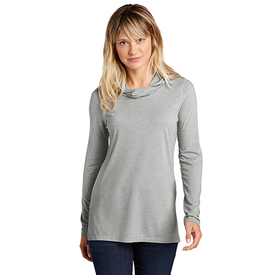 LST406 Sport-Tek ® Ladies PosiCharge ® Tri-Blend Wicking Long Sleeve Hoodie (4509185409102)