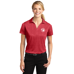 Cherokee Indian Princess Ladies Polo (3939572842538)