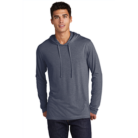 ST406 Sport-Tek ® PosiCharge ® Tri-Blend Wicking Long Sleeve Hoodie (4509143892046)