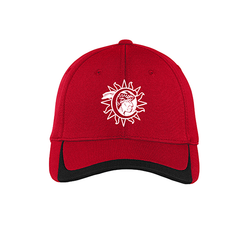 Cherokee Indian Princess Cap - Red/Black (3939948396586)