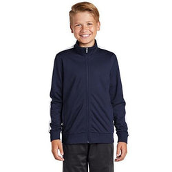 YST94 Sport-Tek ® Youth Tricot Track Jacket (4507890319438)