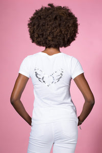 Angel Squads Unite Movement T-Shirt: Pocket Version