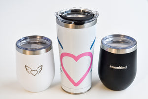 Eco-Travel Tumblers: 12oz Stemless