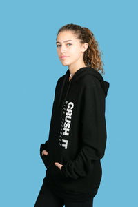 The Boyfriend Black Pullover Hoodie