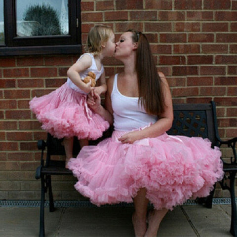 Mommy and Me Ballet Tutu Skirt / Petti Skirt
