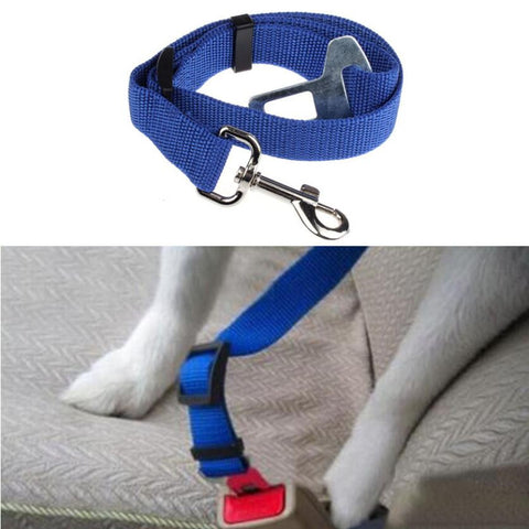 Pet Car Seat Belt with Harness Clip