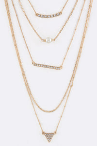 Trendy Layered Necklace - Inward Beauty Boutique