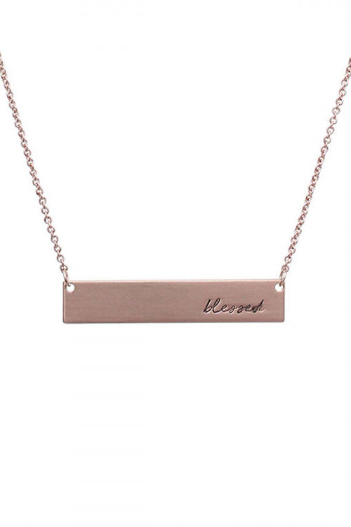 Blessed Necklace - Inward Beauty Boutique