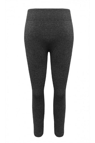 Grey Leggings - Inward Beauty Boutique