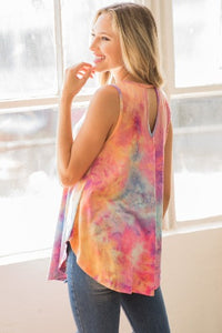 Im from Jersey Tie Dye Tank - Inward Beauty Boutique