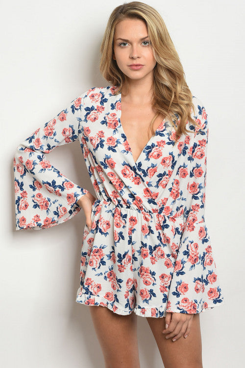Feet in the Sand Romper - Inward Beauty Boutique