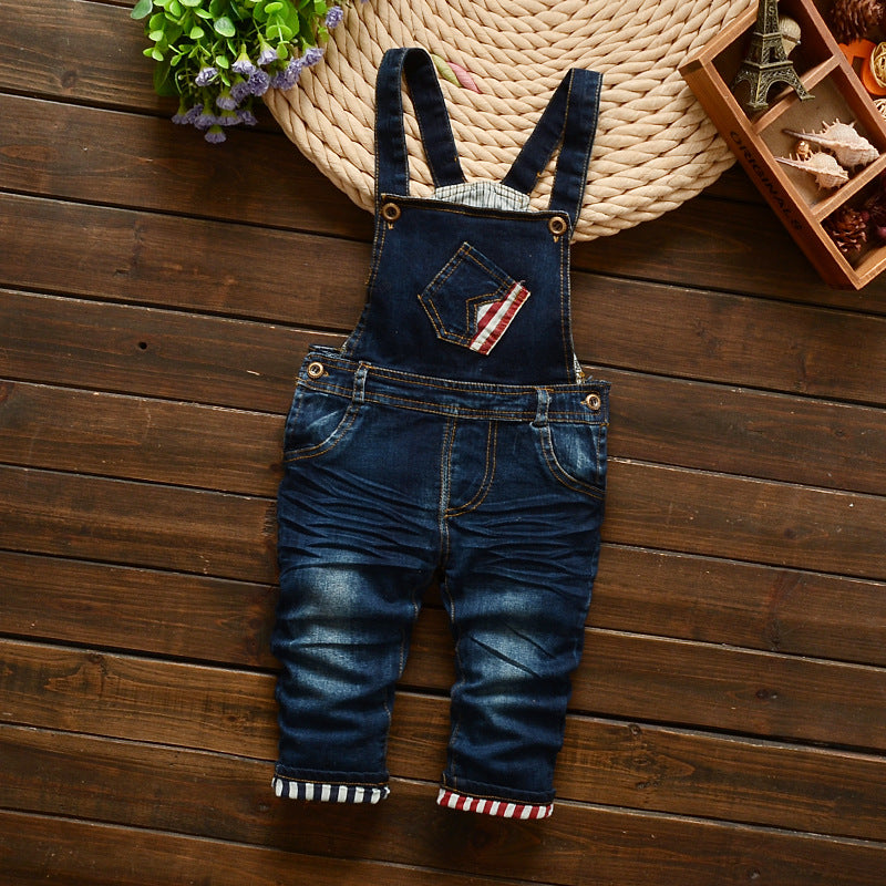 Denim Overalls - Inward Beauty Boutique