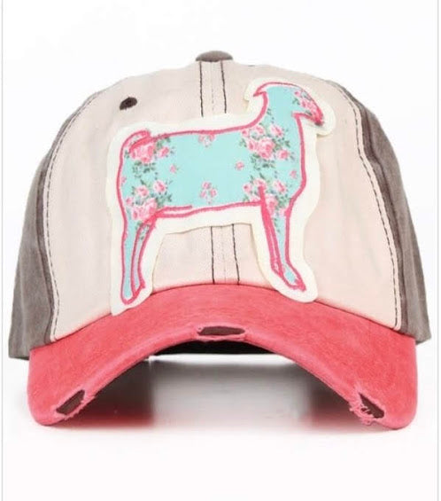 Goat Patch Cap {Girls} - Inward Beauty Boutique