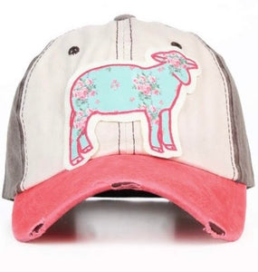 Sheep Patch Cap {Girls} - Inward Beauty Boutique
