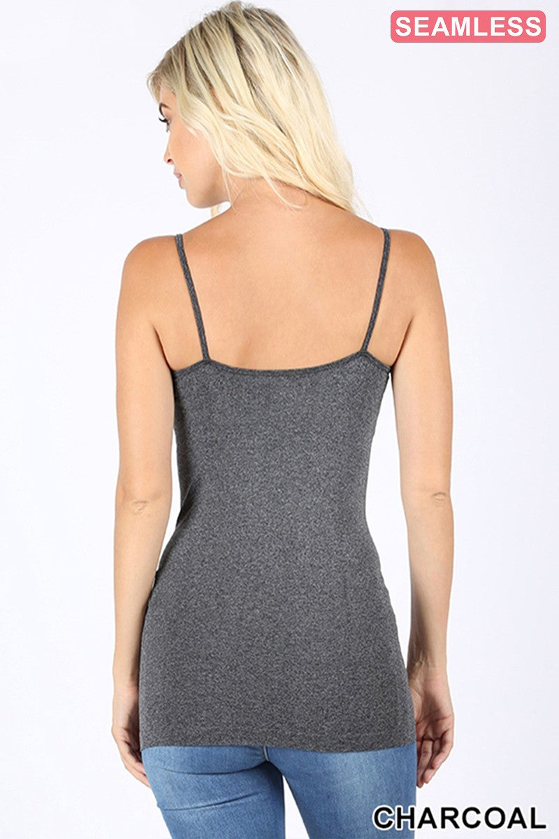 Charcoal Twisted Tank - Inward Beauty Boutique