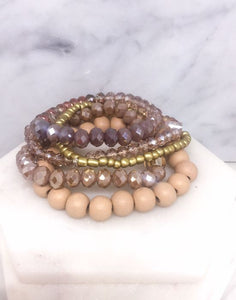 Isn't She Lovely Bracelet Set - Inward Beauty Boutique