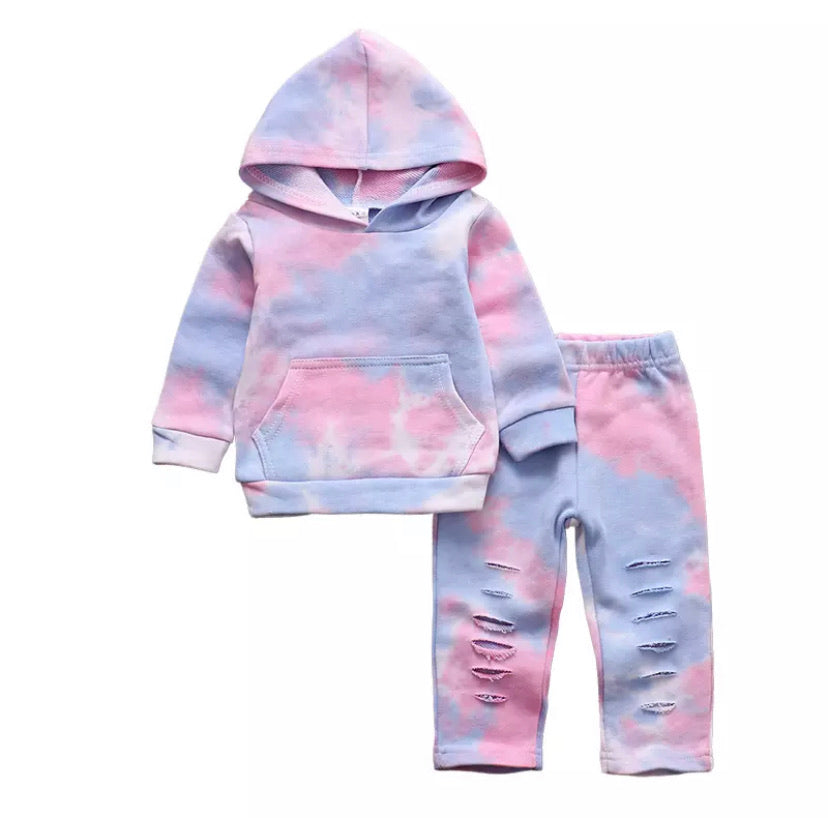 Tie Dye Sweat Set - Inward Beauty Boutique