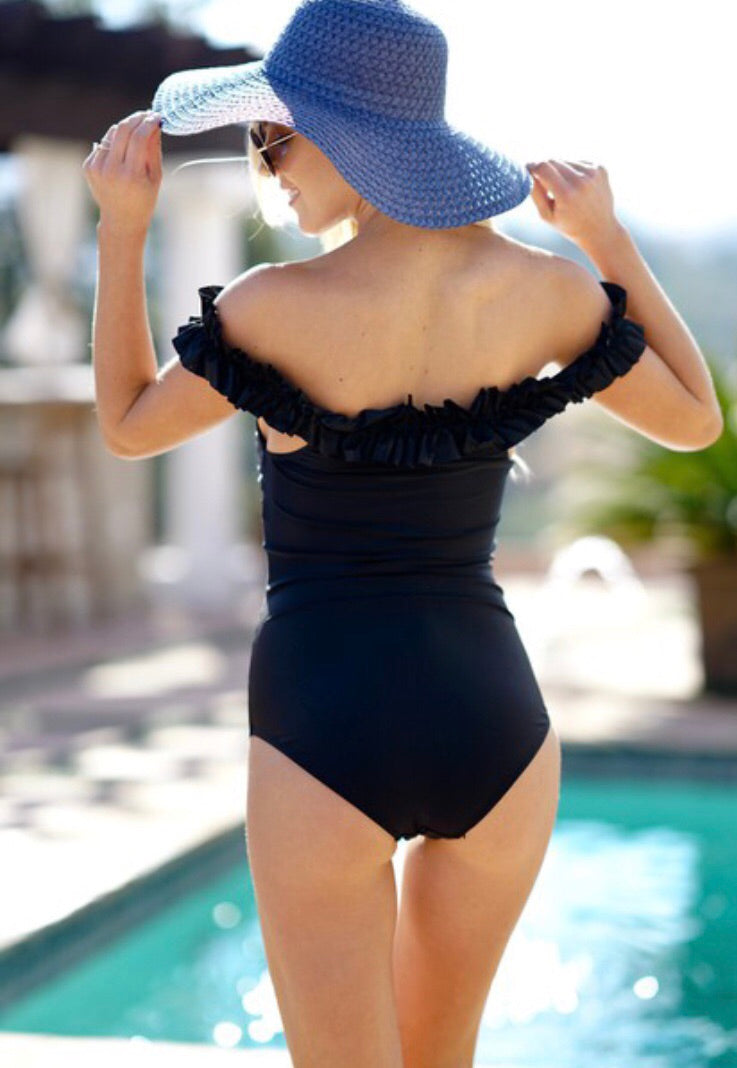 Black Chic Swimsuit - Inward Beauty Boutique