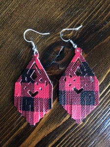 Aztec Fringe Earrings - Inward Beauty Boutique