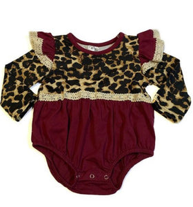 Cheetah & Lace Onsie - Inward Beauty Boutique
