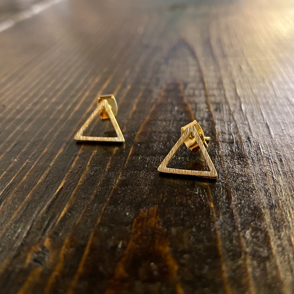 Triangle Studs - Inward Beauty Boutique
