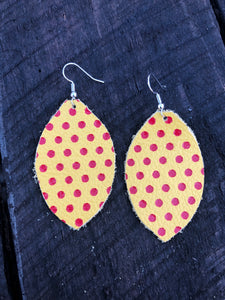 Small Polka Dot Leather - Inward Beauty Boutique