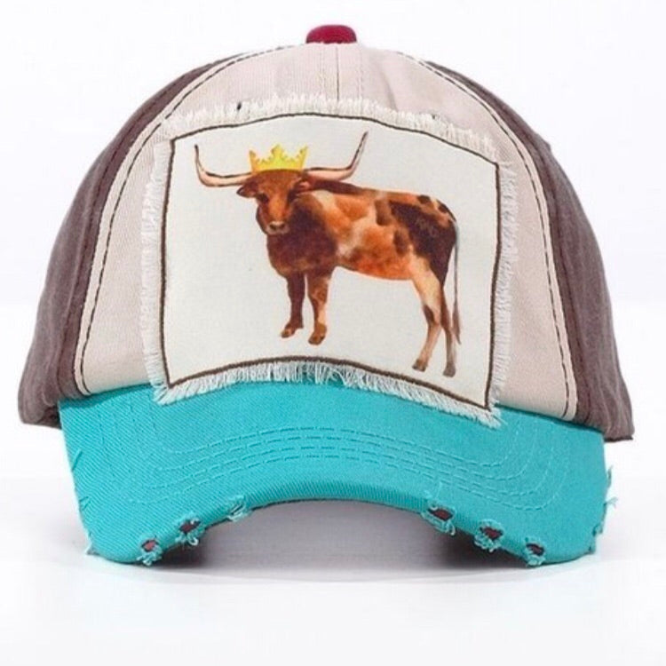 Cowgirl Up Cap {Girls} - Inward Beauty Boutique