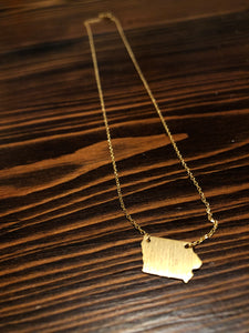 Iowa Necklace - Inward Beauty Boutique