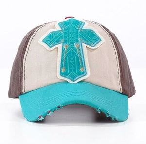 Arrow Cross Patch Cap - Inward Beauty Boutique
