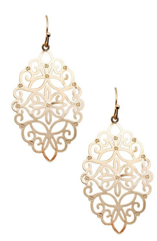 Gold Earrings - Inward Beauty Boutique