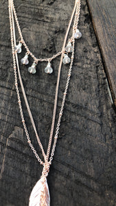 BoHo Layered Necklace - Inward Beauty Boutique