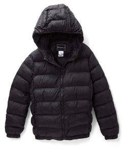 Boys Black Puffer Coat - Inward Beauty Boutique