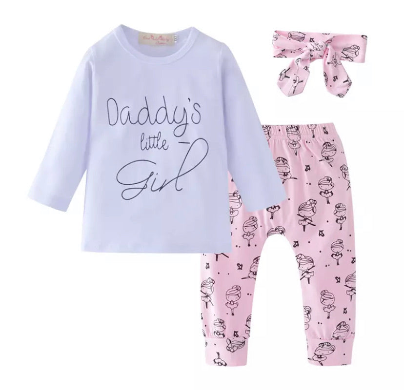 Daddy's Little Girl Set - Inward Beauty Boutique