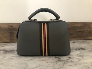 Trendy Striped Handbag - Inward Beauty Boutique