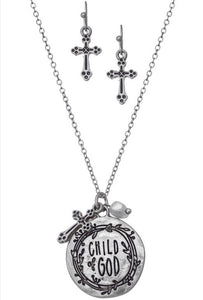 Child of God Necklace - Inward Beauty Boutique